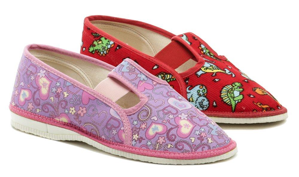 ARNO 555-1 barevné dívčí papučky EUR 24.5