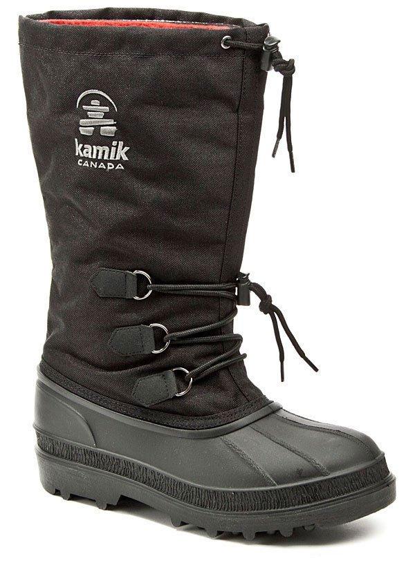 KAMIK Canuck black pánske zimné snehule EUR 43
