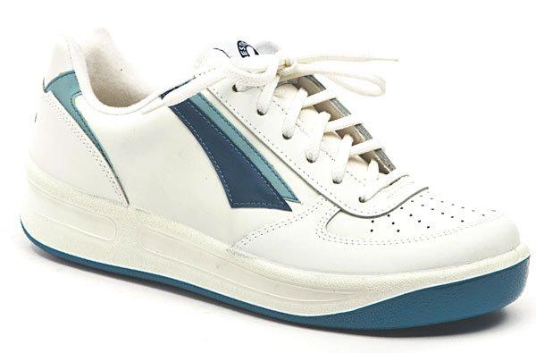 Prestige M86808 bílá pánská nadměrná obuv EUR 47
