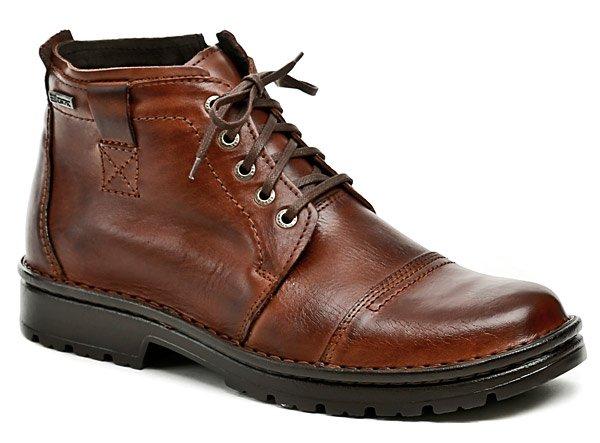 Bukat 211 hnedé pánske zimné topánky EUR 43