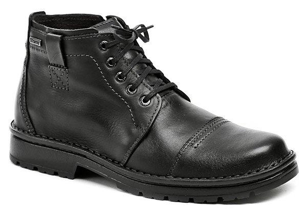 Bukat 211 čierne pánske zimné topánky EUR 41