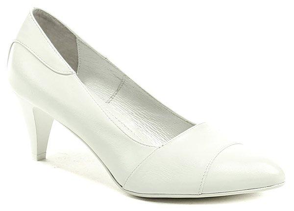 Di Janno 9641-6067 bílé svatební dámské lodičky EUR 41