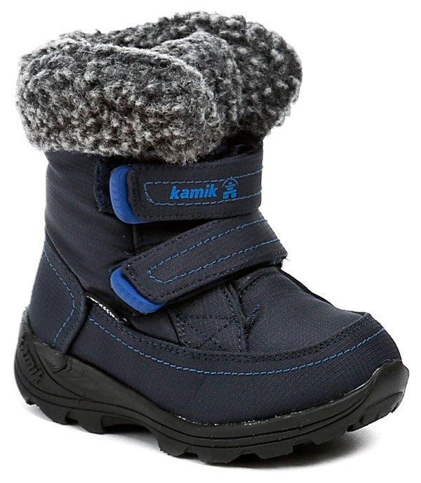KAMIK Leaf infants modré detské zimné topánky EUR 22