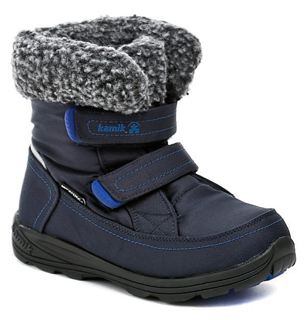KAMIK Leaf child modré detské zimné topánky EUR 32