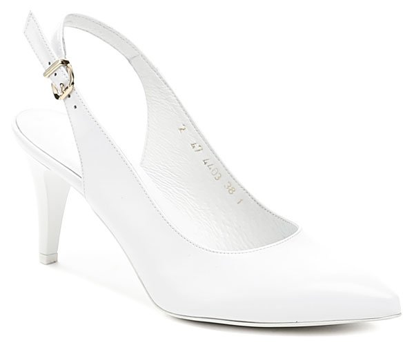 Anis AN4403 bílá dámská svatební obuv EUR 41