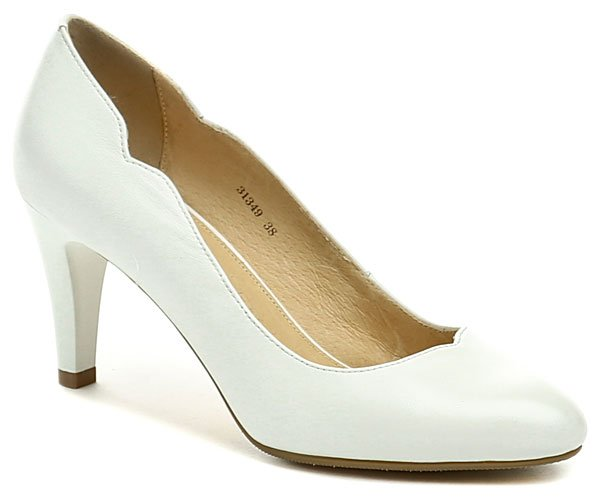 Deska 31349 bílá dámská svatební obuv EUR 36