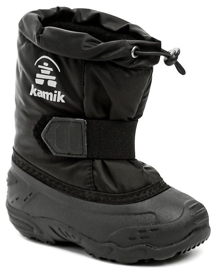 Kamik TickleEU black detské zimné snehulky EUR 23