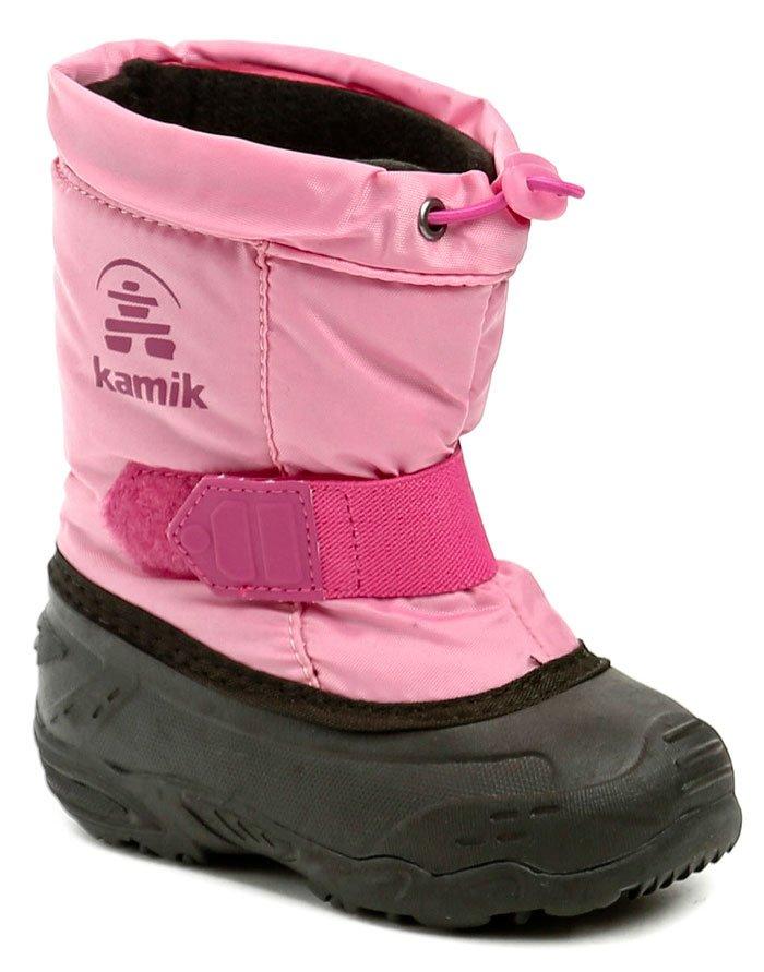 Kamik TickleEU ružová detské zimné snehulky EUR 27