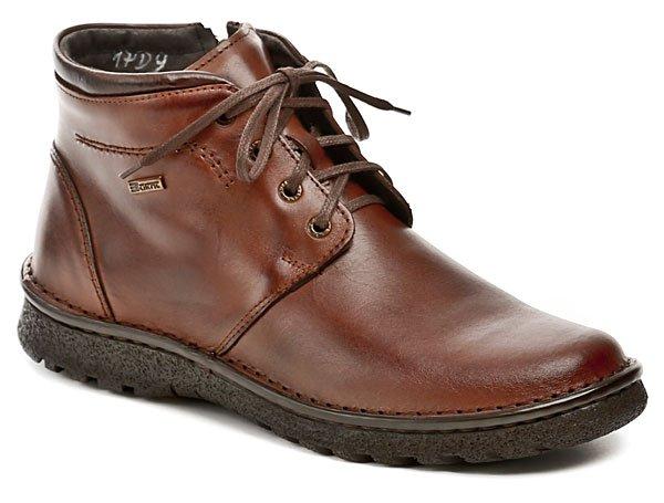 Bukat 208 hnedé pánske zimné topánky EUR 41