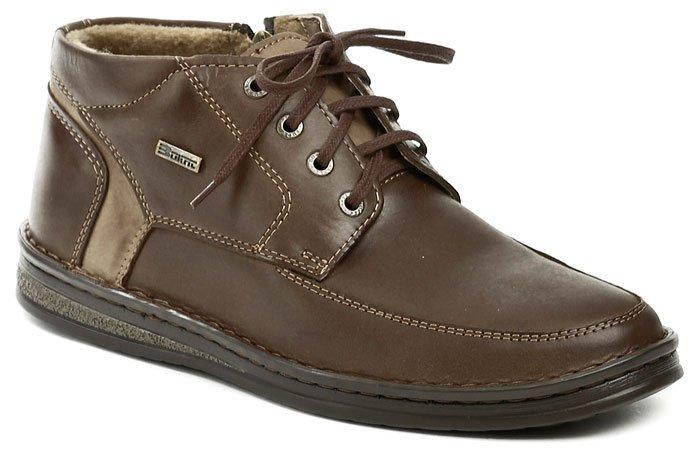 Bukat 239 hnědé pánské zimní boty EUR 44