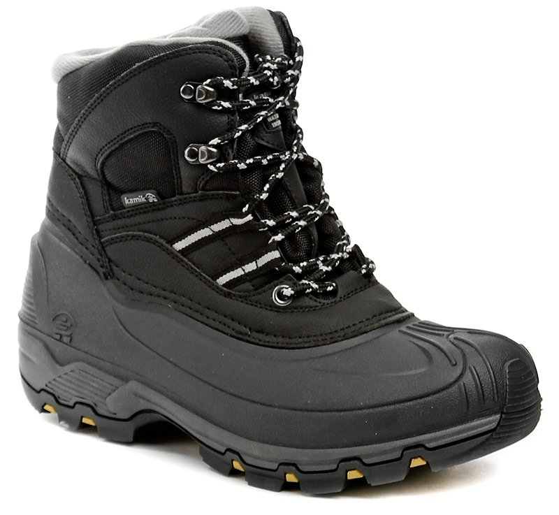 Kamik Warrior 2 black pánske zimné topánky EUR 43