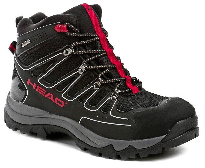 Head HZ-109-36-06 černo červené pánské trekingové boty EUR 43