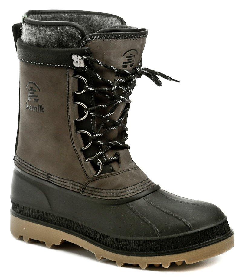 Kamik William šedé pánske zimné topánky EUR 45