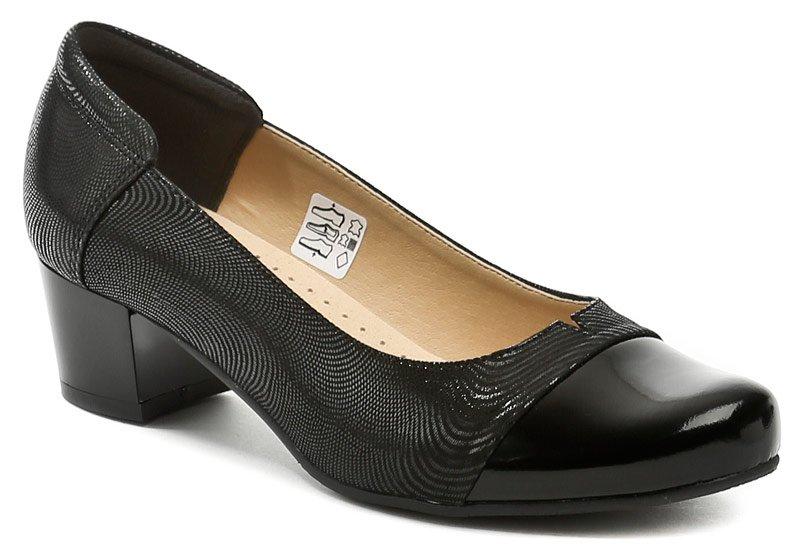 Mintaka 1160 čierne dámske lodičky EUR 38