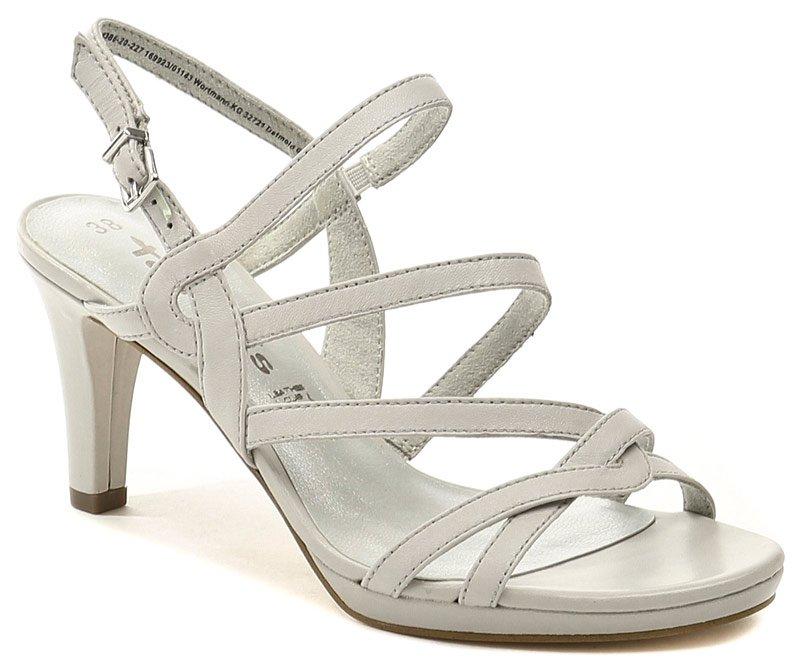Tamaris 1-28386-20 světle šedá dámská letní obuv EUR 41