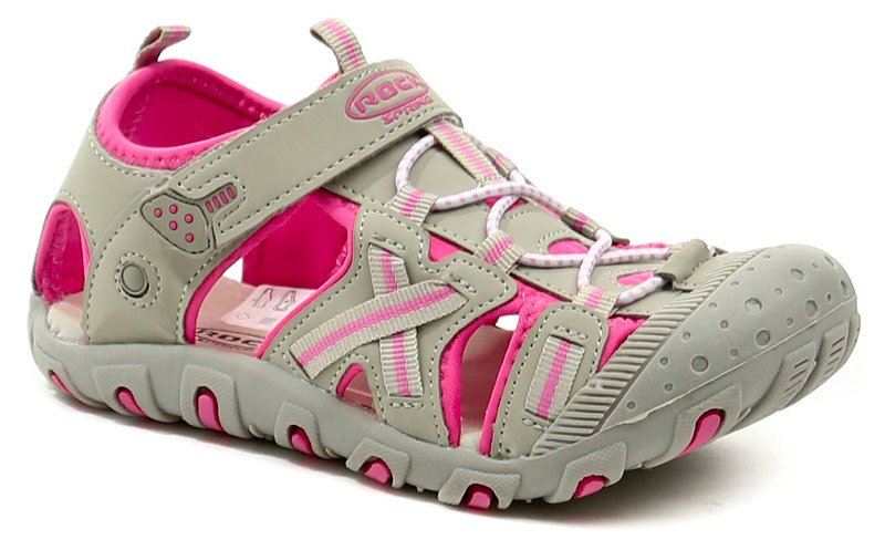 Rock Spring Ordosino šedo růžové dětské sandály EUR 33
