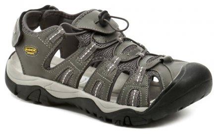 aad2ae01c453 Rock Spring Ordos dk grey pánské letní sandály