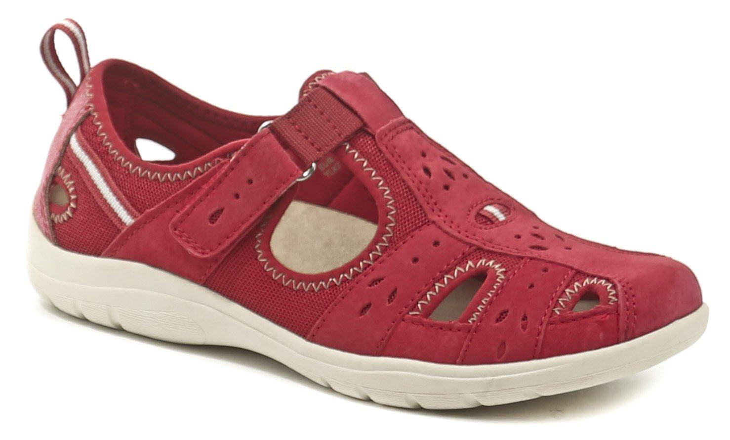 Earth Spirit Cleveland červená dámská letní obuv EUR 36