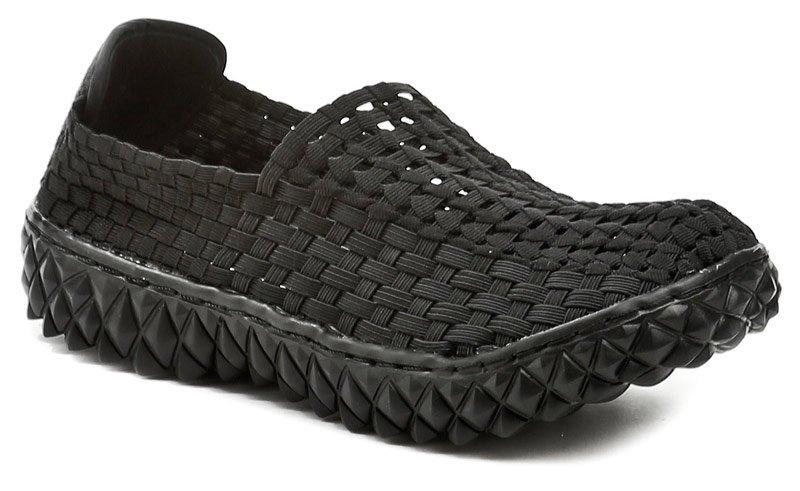 Rock Spring FULL čierne dámske topánky z gumičiek EUR 37