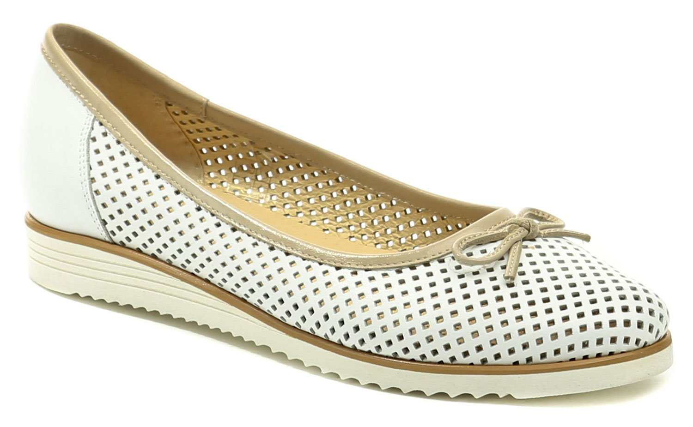De plus 9763-K bílo béžová dámská nadměrná obuv EUR 41