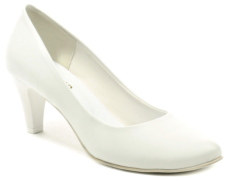 Di Janno 672-2 bílé svatební dámské lodičky EUR 41