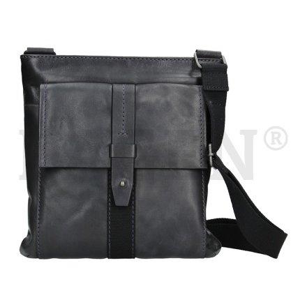 9e1c9292af Lagen 22421 navy kožená taška přes rameno