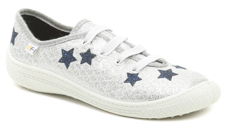 3F dětské stříbrné tenisky s hvězdami 4BT14-6 EUR 35