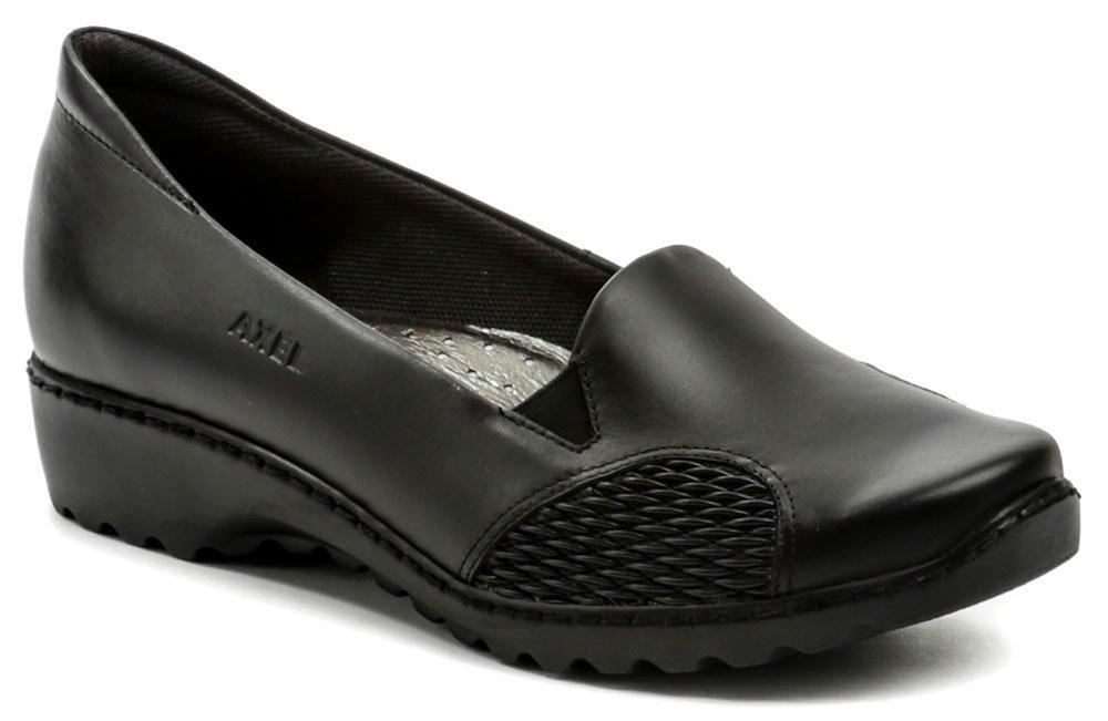 Axel AXCW026 čierna dámska zdravotná obuv  f254f1369d1
