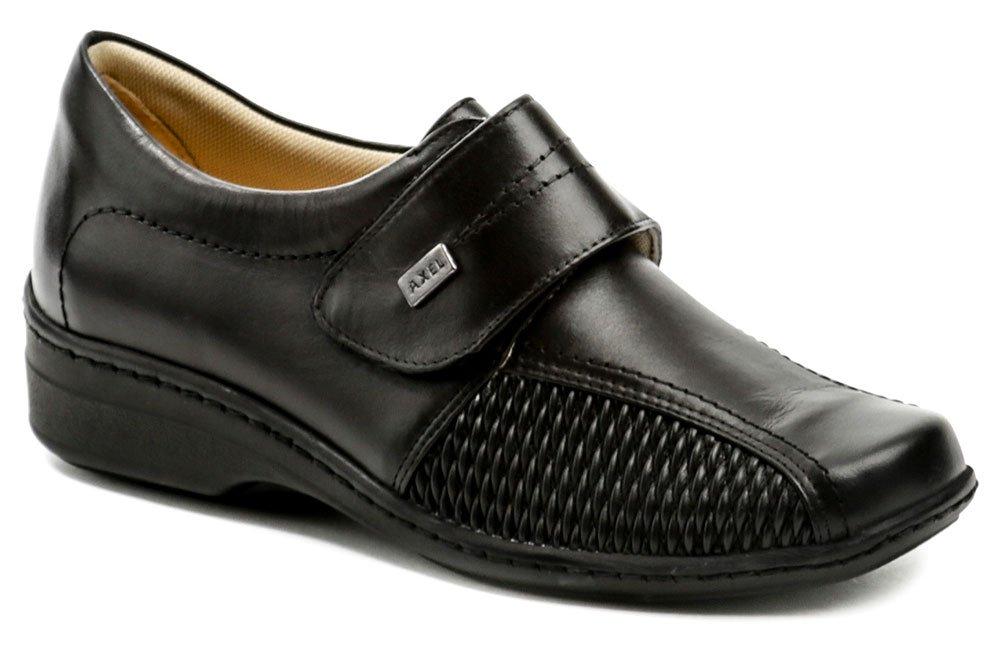 Axel AXCW004 čierna zdravotná dámska obuv EUR 39