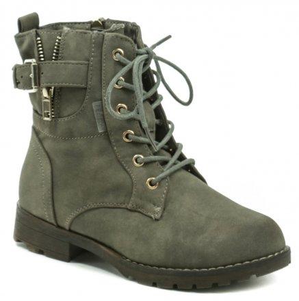 cb1df647d8900 Peddy PV-536-32-21 oliva členkové zimné topánky