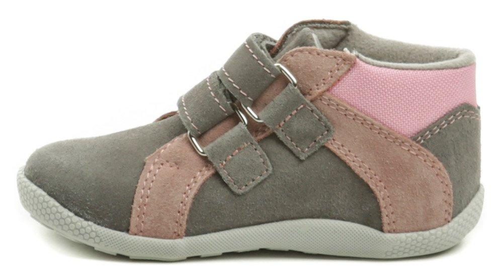 0415c5cd65 Medico EX4830A-1 šedo ružové detské topánky