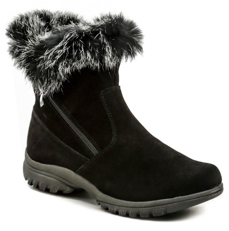 Topway B752128 čierne zimné dámske členkové topánky EUR 36