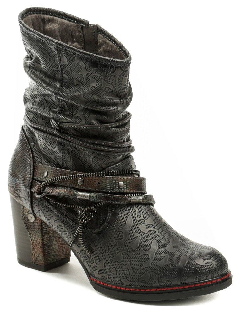 c81ec2a3e9347 Mustang 1287-513-820 navy dámska členková obuv | ARNO-obuv.sk