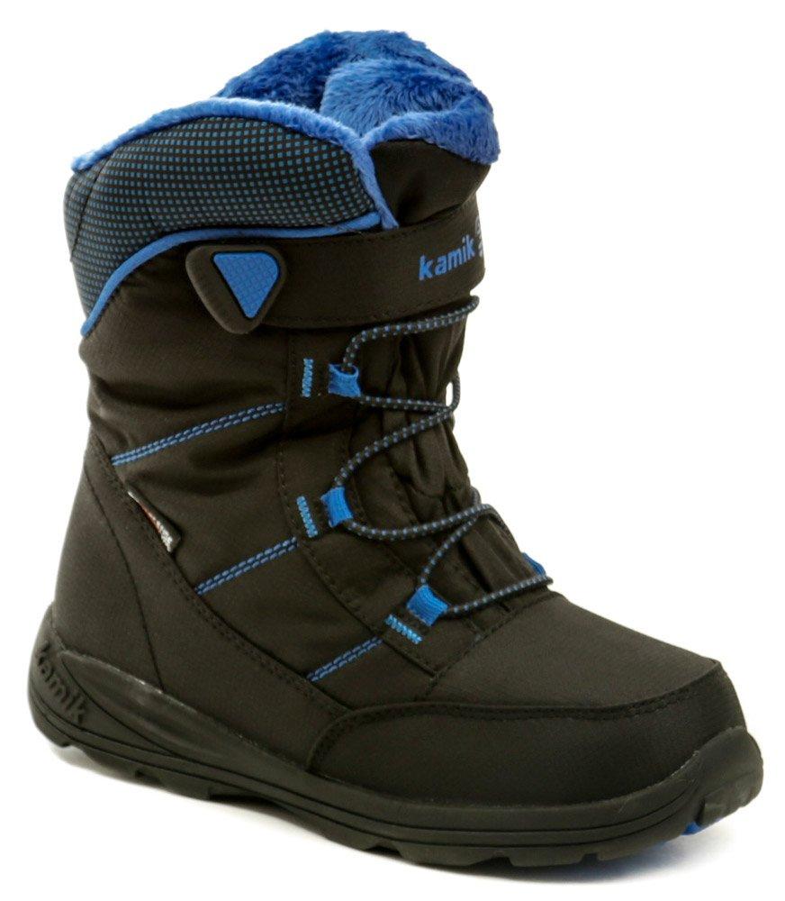 863552572 KAMIK Stance čierno modrá detská zimná členková obuv | ARNO-obuv.sk