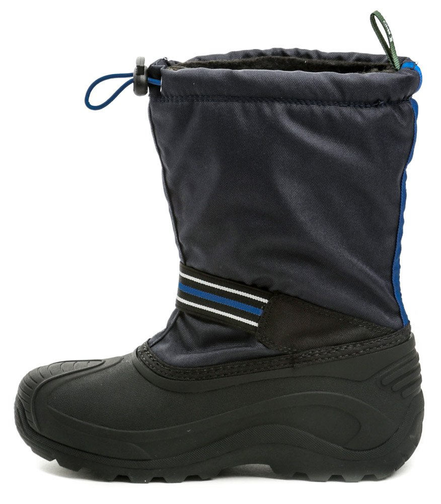 a2582f0056 KAMIK Invade GTX modrej detské zimné snehule Gore-Tex. Detská zimná  vyteplená vychádzková členková nepremokavá obuv ...