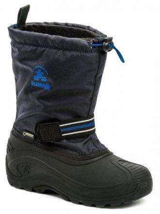 cbaf09c9e KAMIK Invade GTX modrej detské zimné snehule Gore-Tex