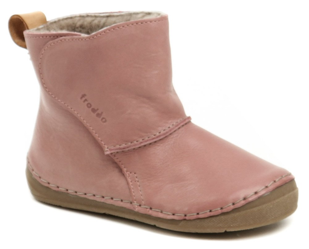Froddo G2160040-7K ružové detské zimné topánky  e4ce4efd603