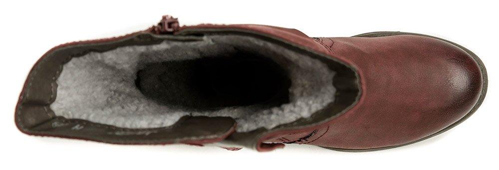 0f6f9a2e2b034 Jana 8-26413-21 bordó dámske zimné topánky šírka H | ARNO-obuv. Výprodej.  Jana ...