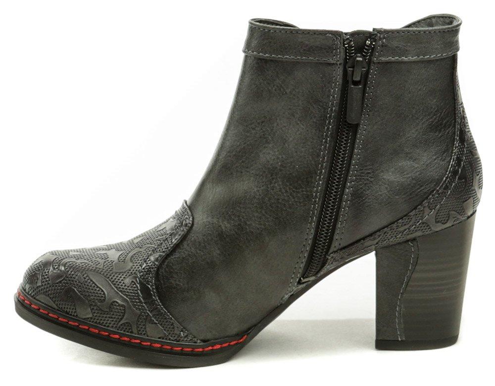 5c742554999b Mustang 1287-502-259 Graphit nadmerná dámska obuv