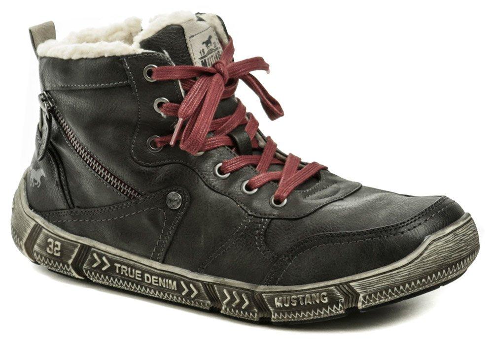 7b6e99156bc5a Mustang 4128-601-259 graphit pánske zimné topánky   ARNO-obuv.sk