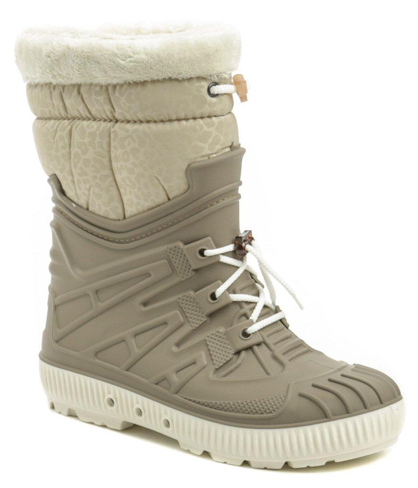 Top Lux 9515 béžovej dámske snehule EUR 36