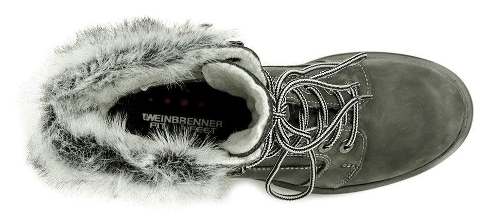 2a3ae4dd30c Weinbrenner W2495z22 šedé dámske zimné topánky