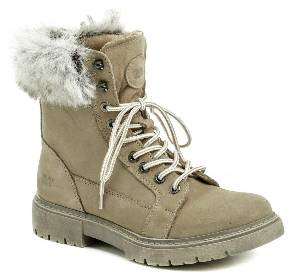Weinbrenner W2495z41 béžové dámske zimné topánky  6348a20610e
