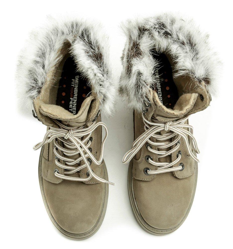 f15f9e25a96 Weinbrenner W2495z41 béžové dámske zimné topánky