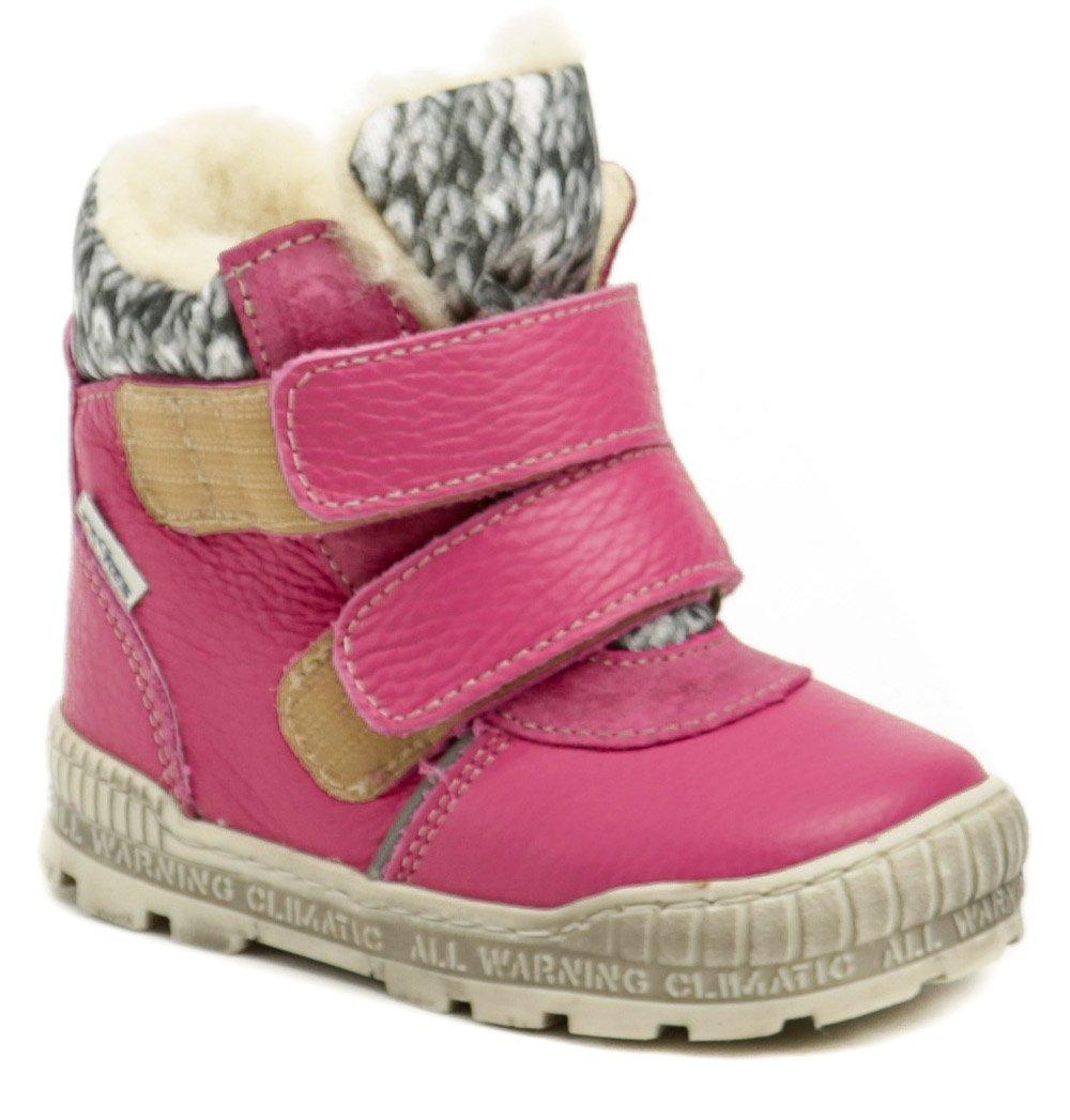 Pegres 1702 ružová detská zimná obuv EUR 22