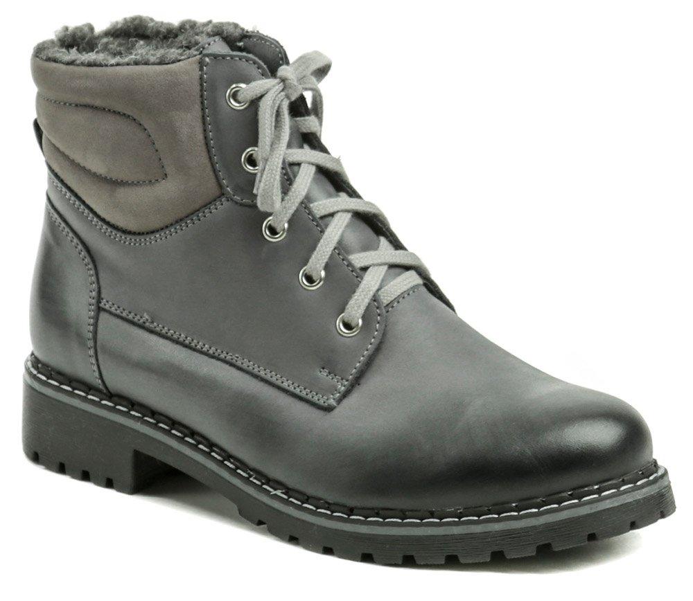 Stella S4008 šedé dámske zimné topánky EUR 37