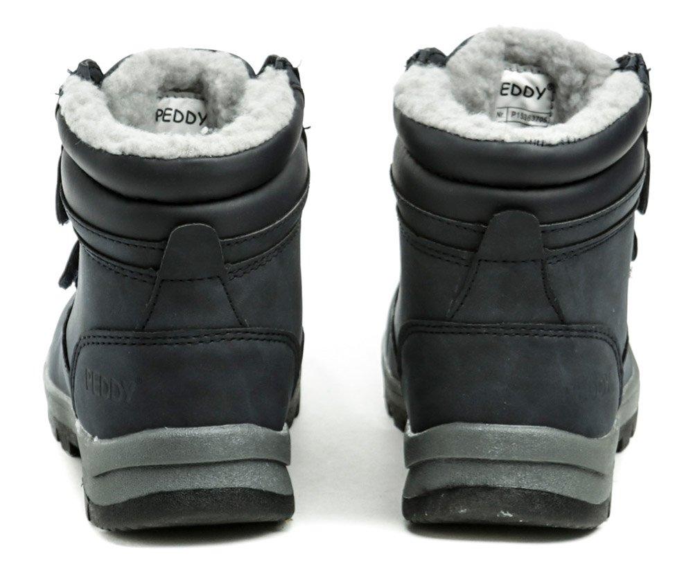 a2105fcab541 Peddy P1-536-37-05 modré detské zimné topánky. Detská zimná vychádzková  členková obuv ...