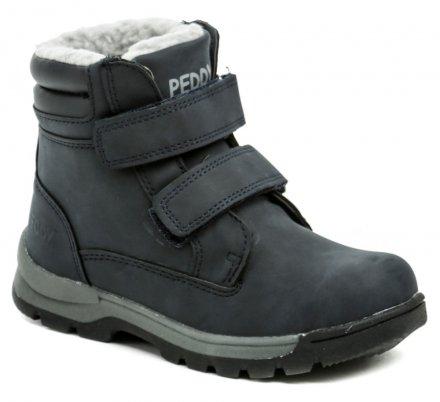 e80a5f247 Peddy P1-536-37-05 modré detské zimné topánky