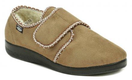 cbceacb76 Rogallo 4340-004 béžové dámske zimné papuče