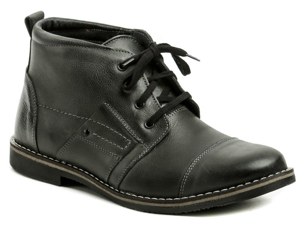 Wawel IG042B šedé pánske zimné topánky EUR 40